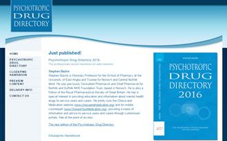 Psychotropic Drug Directory 2018